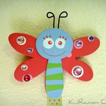 Dragonfly Bow Holder
