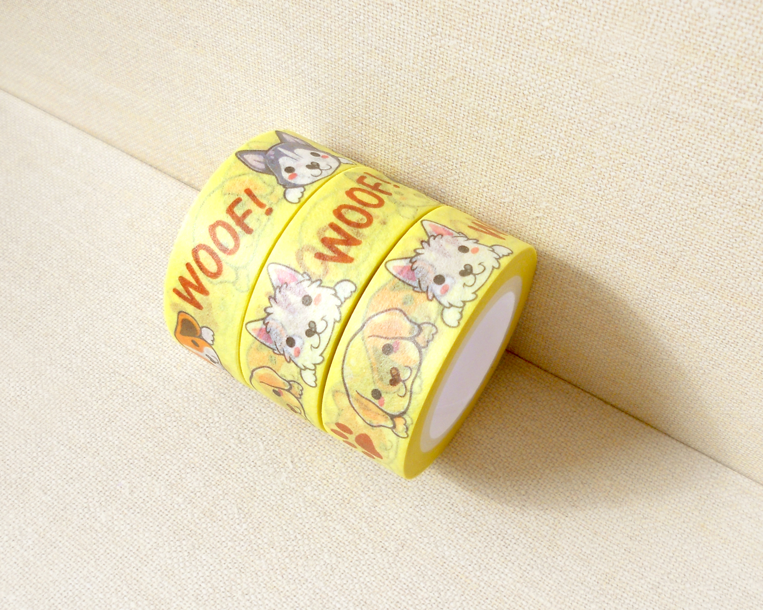 cute dogs washi tape planner decoration kawaii washi tape cute washi tape masking tape. Black Bedroom Furniture Sets. Home Design Ideas