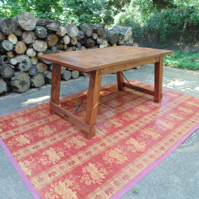 Wicomico turnbuckle dining table  farmhouse  reclaimed wood  custom   handcrafted  handmade Home   Wonderland Woodworks   Online Store Powered by Storenvy. Farmhouse Dining Table Made In Usa. Home Design Ideas