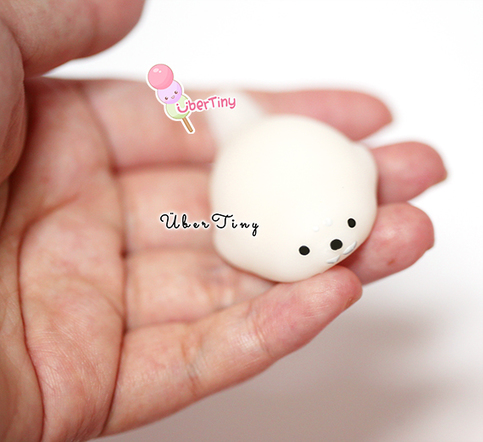 Very Small Squishy Collection : Mini Mochi Seal Squeeze Toy Squishy ? Uber Tiny ? Online Store Powered by Storenvy