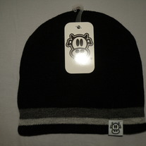 MAD COW BEANIE (BLACK)