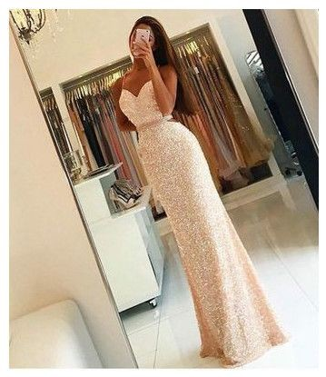 New Arrival Prom Dress,Prom Dress,Sequin Prom Dress, Long Woman ...