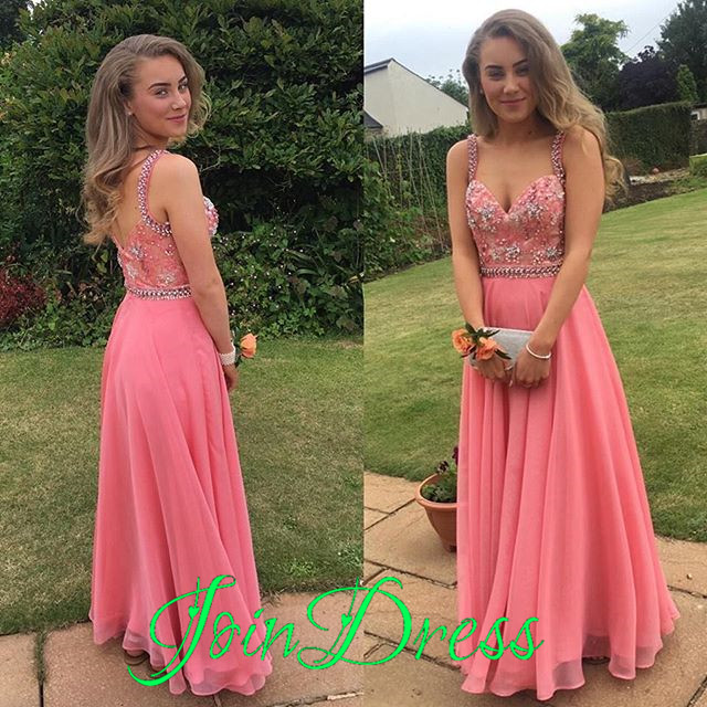 Coral Evening Gownssimple Formal Dressesprom Dressesteens Fashion