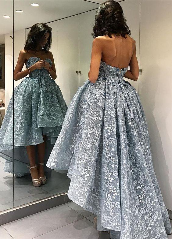Blue Prom Dressgorgeous Prom Dress2017 Prom Dresscheap Prom Dress