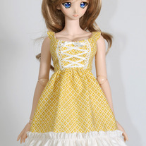 DDdy Yellow Country Dress