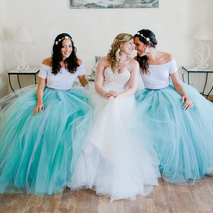 Off-shoulder Bridesmaid Dresses,New Bridesmaid Dresses,Tulle ...