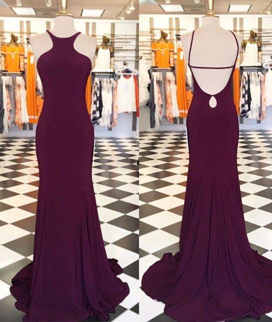 AM205 Gorgeous Mermaid Long 2017 Maroon Prom Dress,Burgundy Long ...