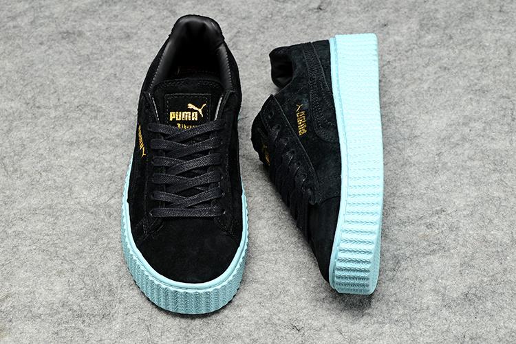 3bdb0b1de00 ... Fashion Shoes by fenty Women s Casual sneaker black - Thumbnail 4