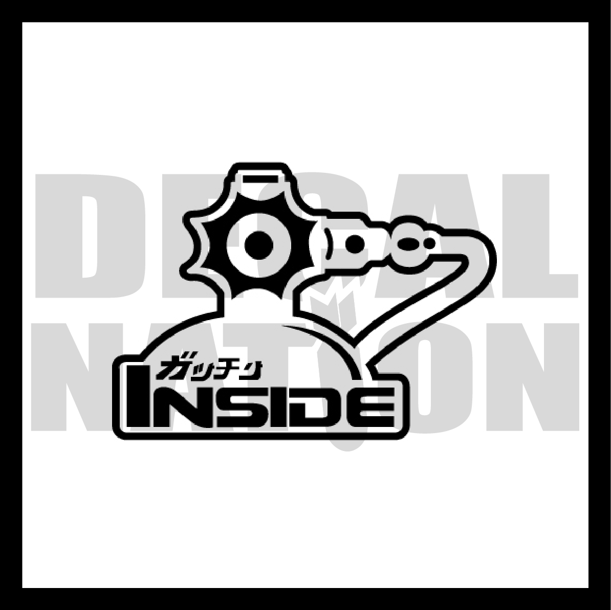 NOS Inside · Decal Nation · Online Store Powered by Storenvy