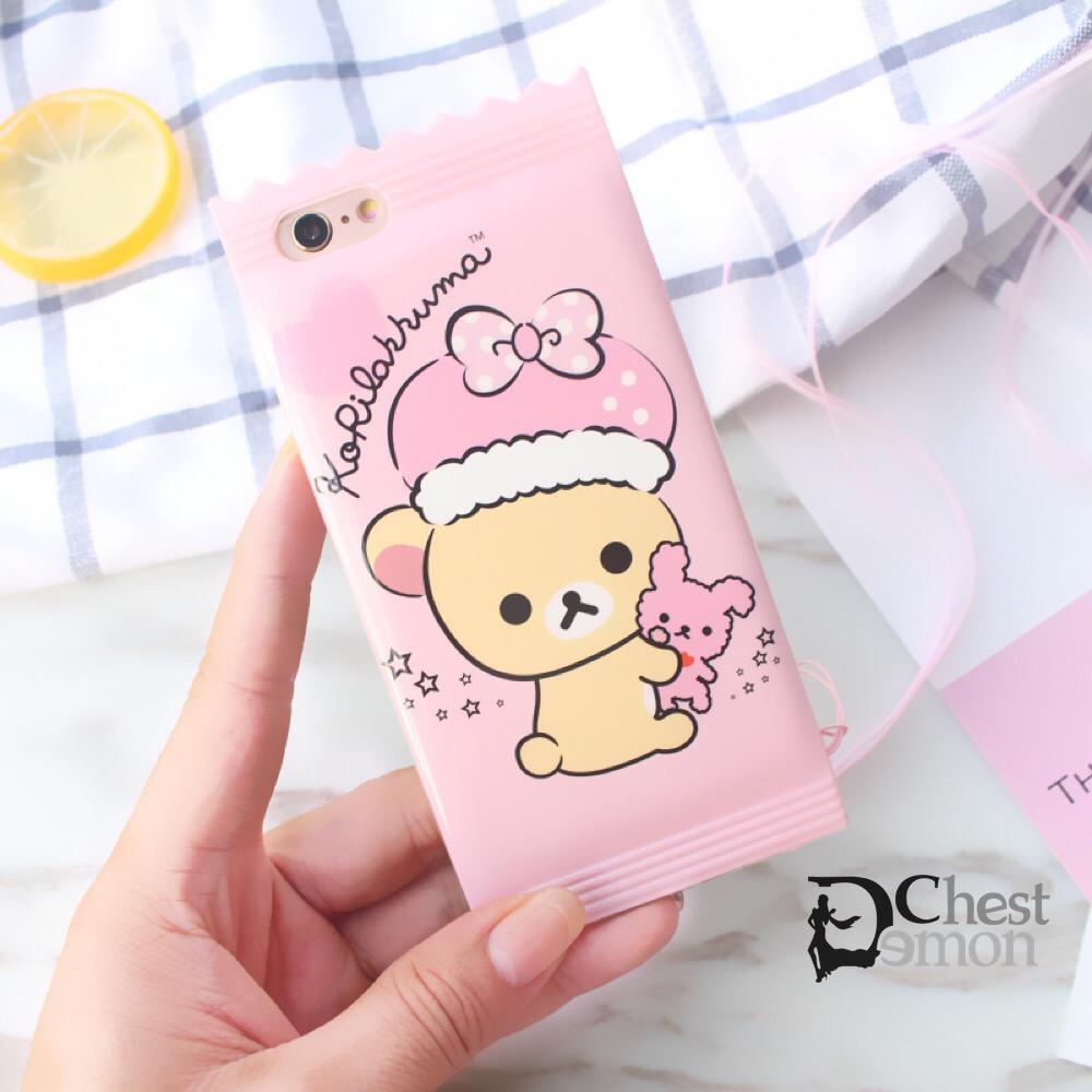 Cute Pink Candy Pack Iphone6&7 Case Creative Cartoon DC269 ...