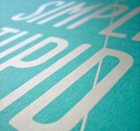 Keep it simple screen print