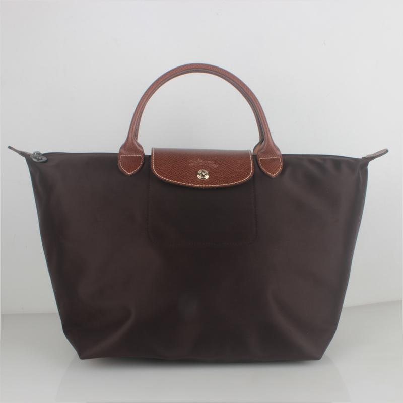 Deal Cheap Portable Longchamp Le Pliage 1623 Bags Chocolate