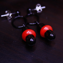 Little Red Dot Earrings
