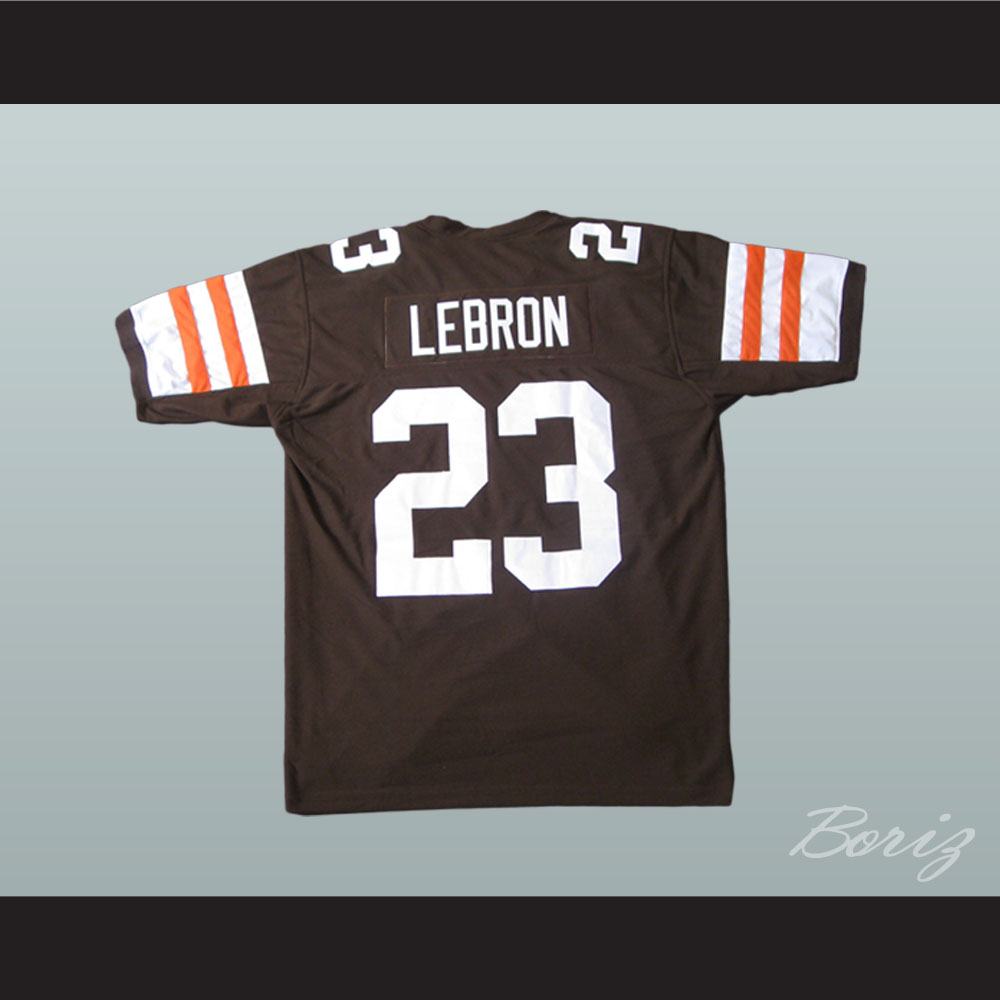 Lebron James 23 Football Jersey Reference to Commercial ...