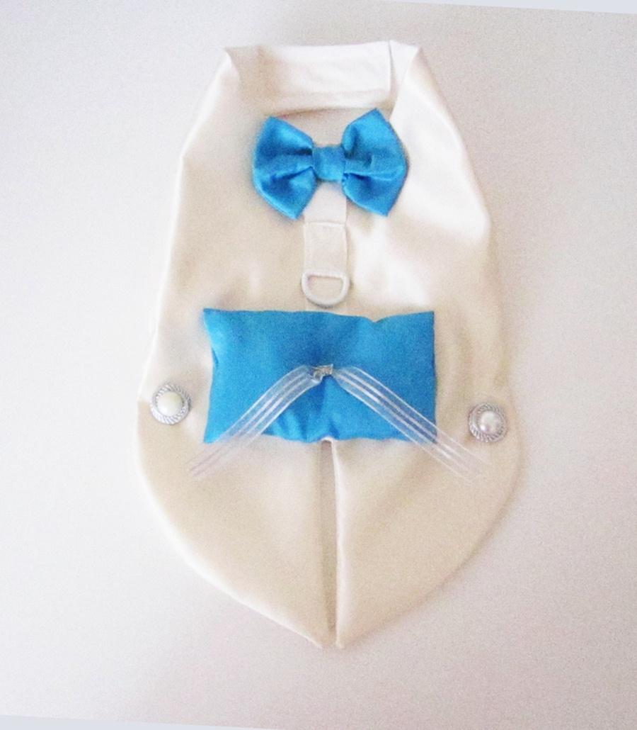 miasclosetshop | Tuxedo harness Ring Bearer Dog Wedding Inspiration ...
