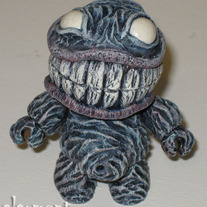 "SOLD OUT - Chompie (custom 2.5"" Toy2r Qee)"