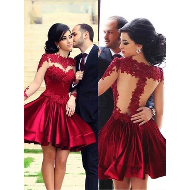 e7efa6a5b Burgundy Prom Dresses