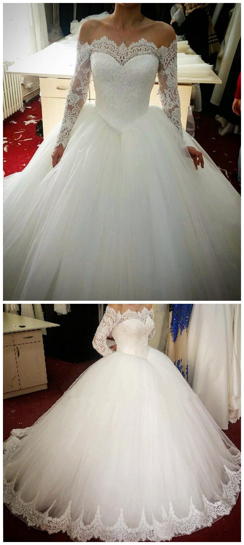 Custom Made Bridal Gowns Wedding Dresses Lace vestido de noiva ...
