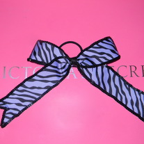 Sequin Trimmed Printed Bow