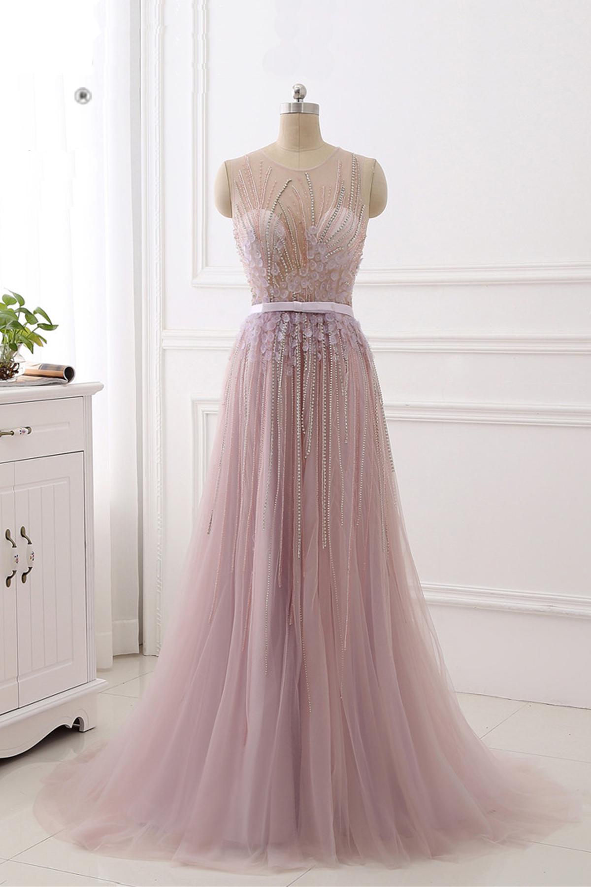 3D Flower Prom Dress
