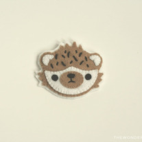 Hedgehog Brooch Pin