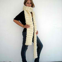 the ridiculously long scarf