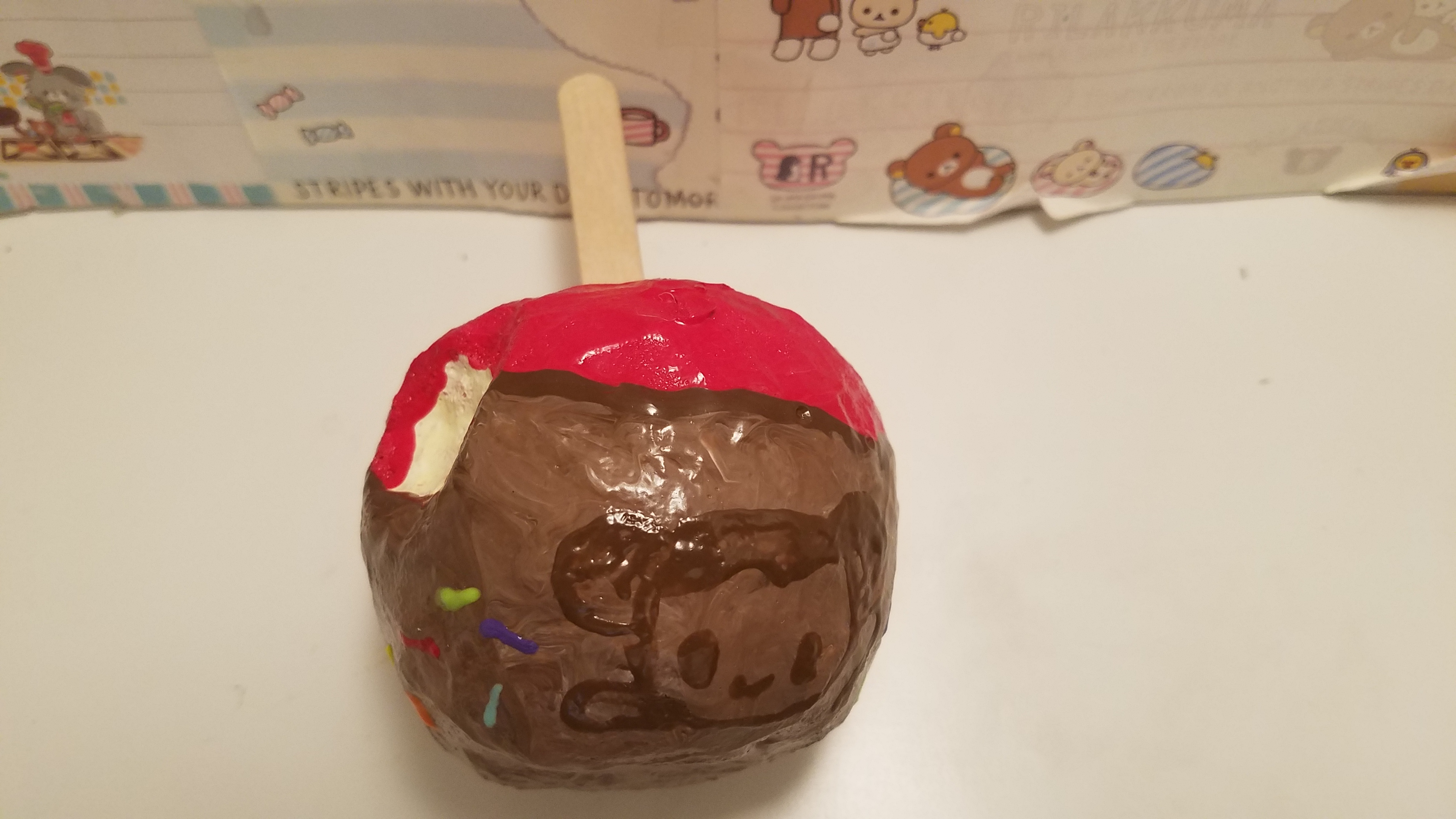 Homemade Candy Apple Squishy 183 Squishy Boba Cafe 183 Online