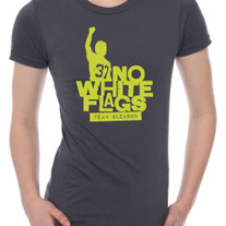 TG No White Flags Ladies T-shirt