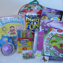 Packed 4 Fun JUST FOR GIRLS ages 5-10 Pack