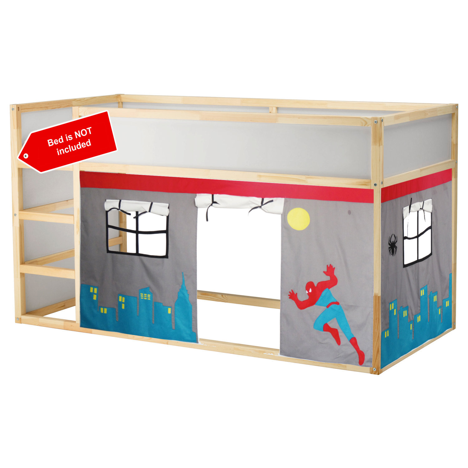 Spiderman Bed Playhouse Bed Tent Loft Bed Curtain Free Design