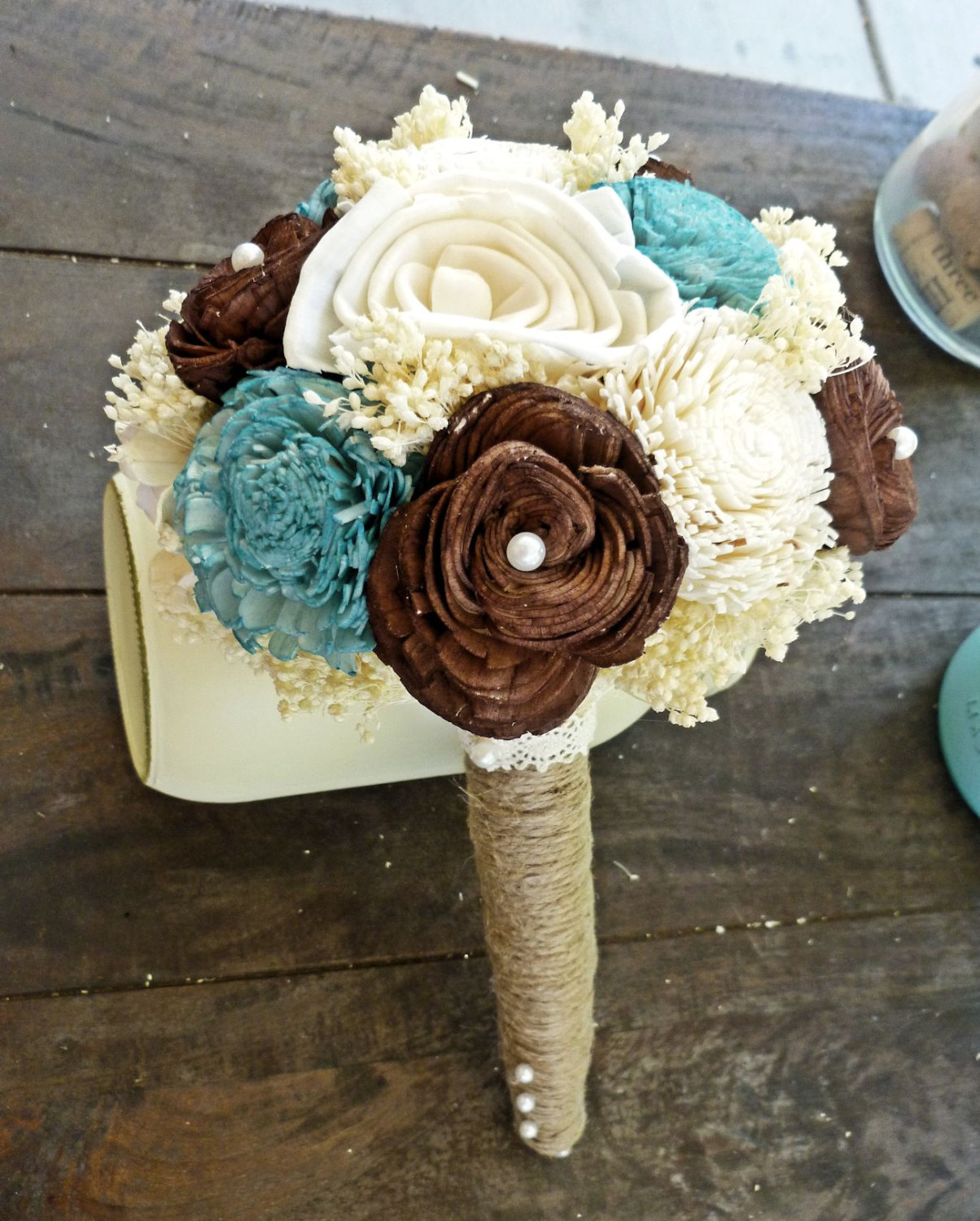 Turquoise And Brown Wedding Viewing Gallery