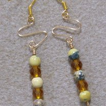 Yellow Turquoise and Topaz