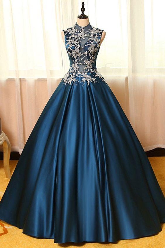 Long Vintage Prom Dresses