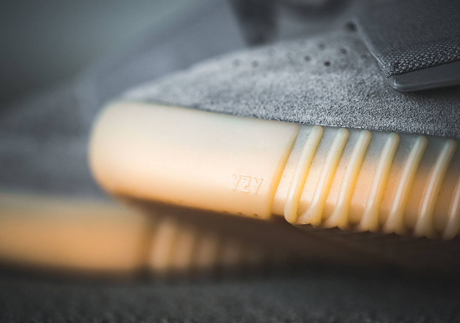 ... ADIDAS YEEZY 750 BOOST Color  Light Grey Light Grey Gum Style Code  435f09b43