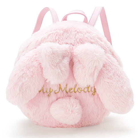 Japanese Lolita Bunny Plush Mini Backpack Bags Pink Cute ...