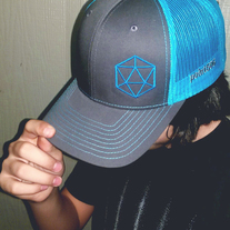 Icosahedron Snapback Cap medium photo