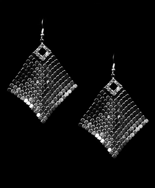 Flexible Shimmer Earrings W Rhinestone Accents 183 Sophisticates Closet 183 Online Store Powered By