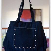 Black Oversized Tote - Mother's Day Special - Was $59 Now $35