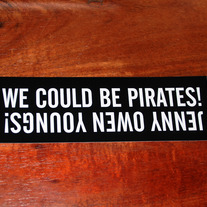 PIRATES!!! Sticker