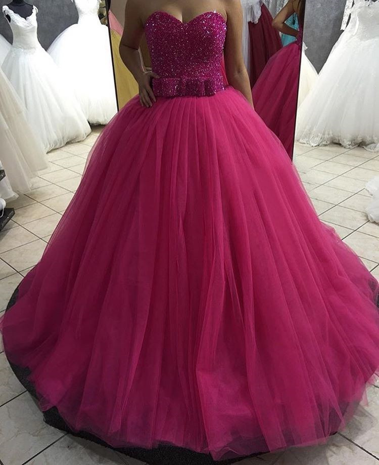 W251 Sweetheart Ball Gown Princess Prom Dress , Birthday Party ...