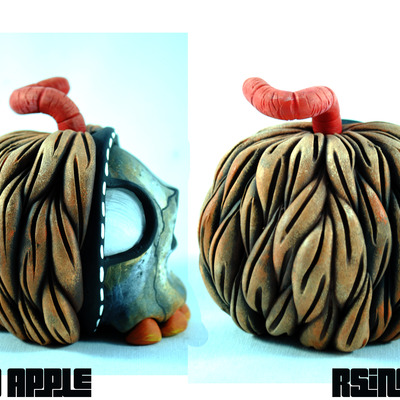 """bad apple"" by rsin"