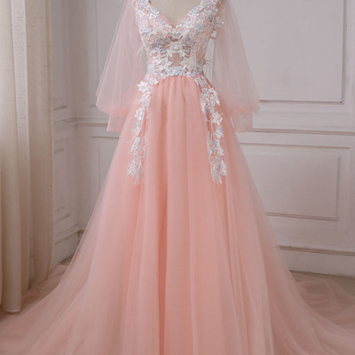 2018 Pink Party Dresses
