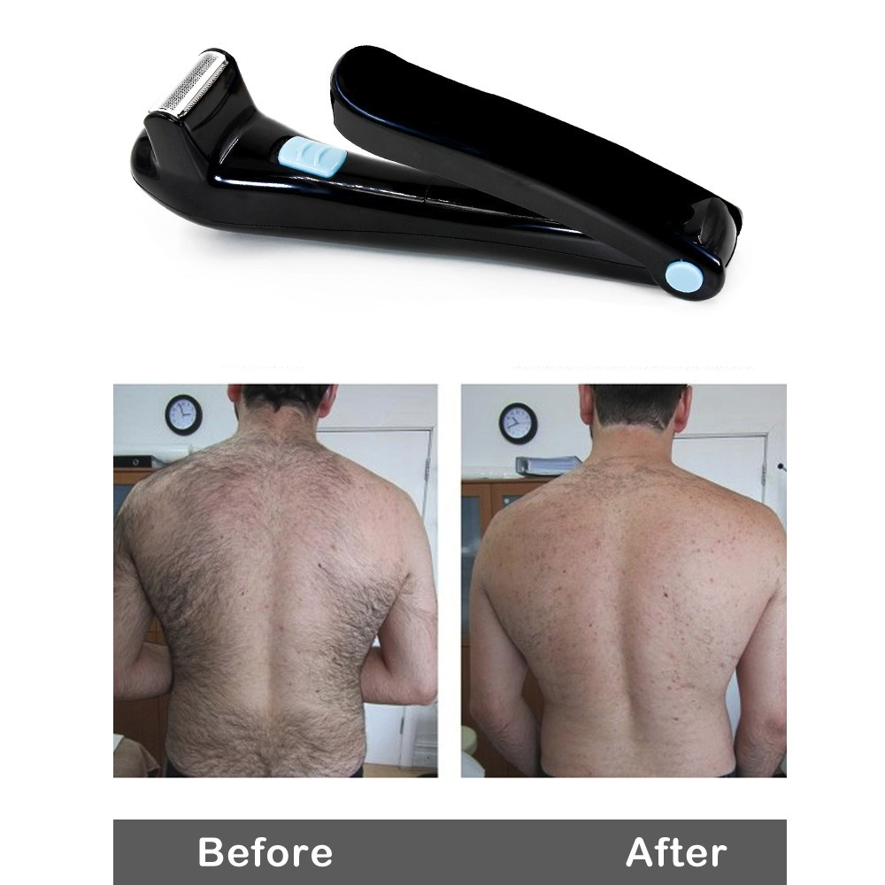 Electric back hair shaver do it yourself cordless and folding electric back hair shaver do it yourself cordless and folding battery operated back solutioingenieria Gallery