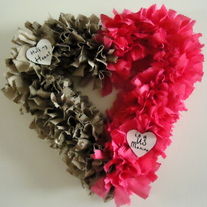 Half My Heart Wreath