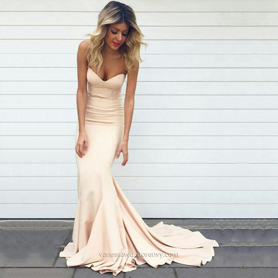 Discount Long Prom Dresses,Trumpet/Mermaid Sweetheart Formal Dresses ...