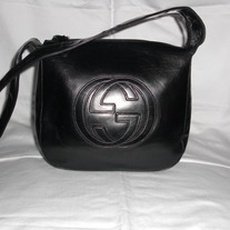 Gucci Patent Leather Small Handbag