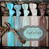 sand and sea : original {knotieties} 10 pack
