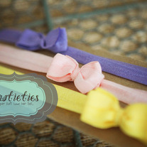 tiny bowtie headband: choice of ONE