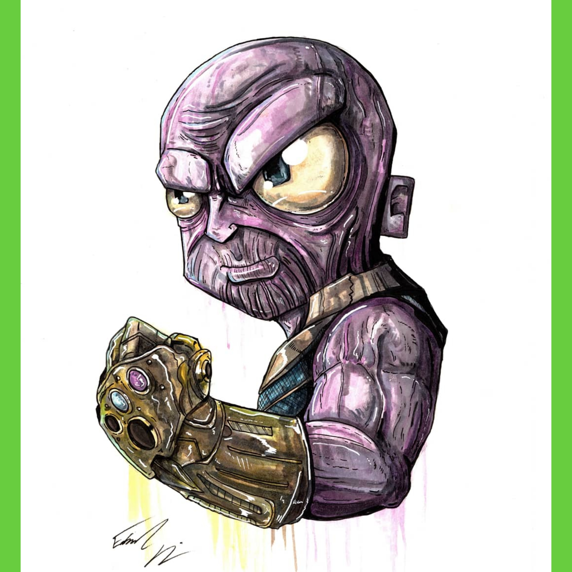 dbf8030f0c2 Thanos print · Taco Boy Designs · Online Store Powered by Storenvy