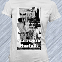 S.L.U.T.Walk 2012 Official T-Shirt
